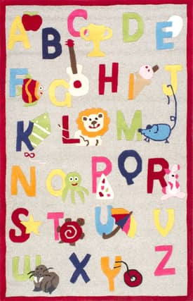 Rugs USA Cradle Alphabet Rug
