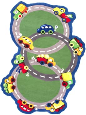 Rugs USA Cradle Cars & Trucks Rug