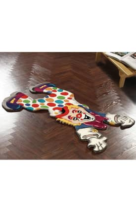 Rugs USA Cradle Clown Fun Rug