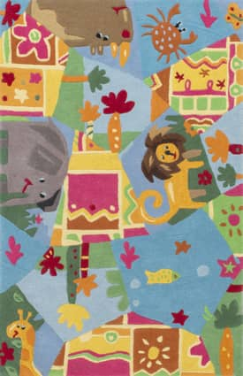 Rugs USA Cradle Animal Friends Rug