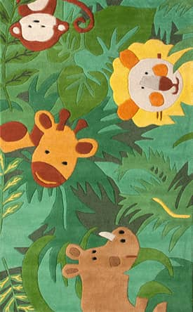 Rugs USA Cradle Safari Friends Rug