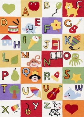 Rugs USA Couture Alphabet Expressions Rug
