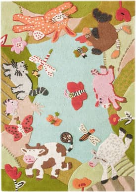 Rugs USA Cradle Animal Land Rug