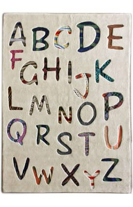 Rugs USA Cradle Alphabets Rug