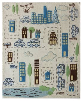 Rugs USA Cradle Cityscape Rug