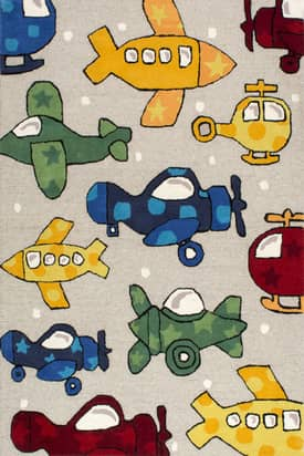 Rugs USA Cradle Airplanes Rug