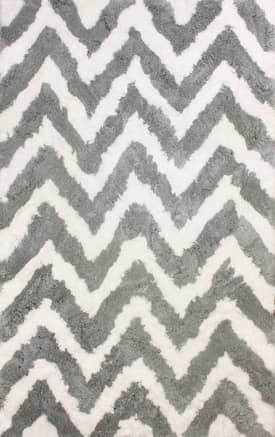 Rugs USA Grace Chevron Shag Rug