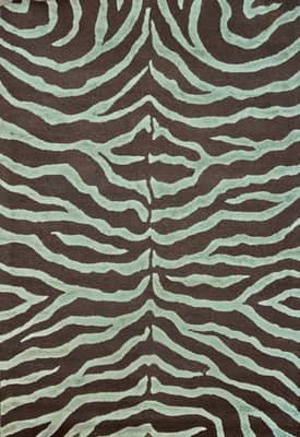 Rugs USA Safari Contemporary Zebra Print with Faux Silk Highlights Rug