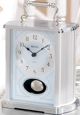 Bulova Tabletop Clocks Carrington Table Clock