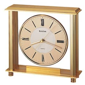 Bulova Tabletop Clocks Grand Prix Table Clock