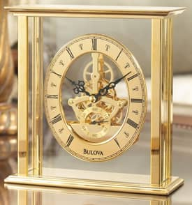 Bulova Tabletop Clocks Castine Table Clock