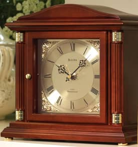 Bulova Mantel Chimes Bramley Chiming Mantel Clock