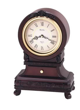 Bulova Mantel Chimes Knollwood Chiming Mantel Clock