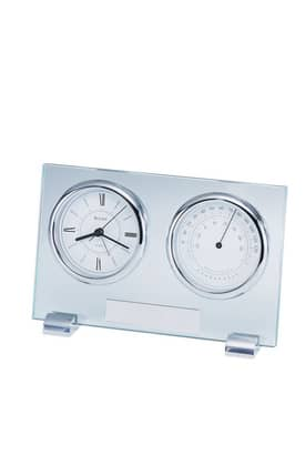 Bulova Tabletop Clocks Camberley Table Glass
