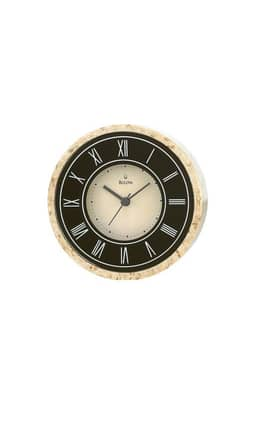Bulova Tabletop Clocks Genuine Marble Table Clock