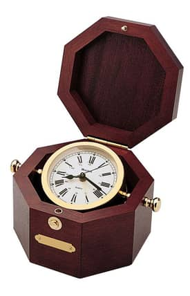 Bulova Tabletop Clocks Quartermaster Table Clock