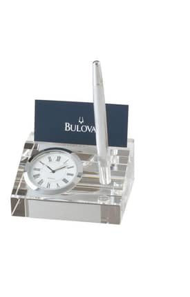 Bulova Tabletop Clocks Executive Dryden Table Clock