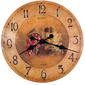 Bulova Decorative Wall Clocks Whittingham Wall Clock