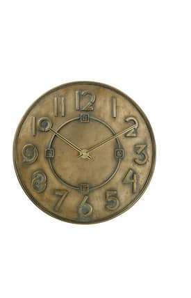 Bulova Wall Clocks Typeface Wall Clock