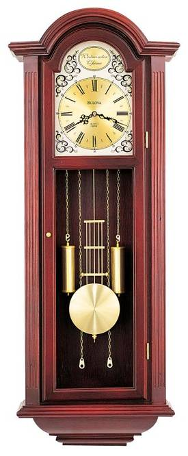 Bulova Wall Chimes Tatianna Chiming Wall Clock