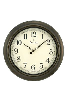 Bulova Wall Clocks Quincy Indoor Outdoor Wall Clock