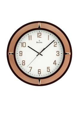 Bulova Wall Clocks Compass Wall Clock
