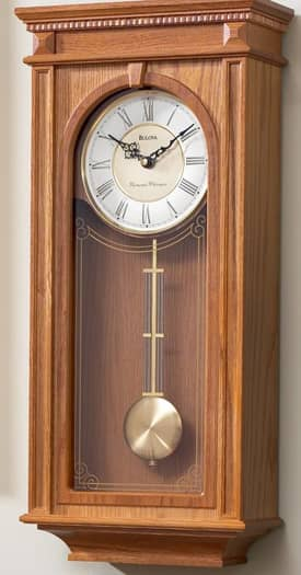 Bulova Decorative Wall Clocks Manorcourt Wall Clock
