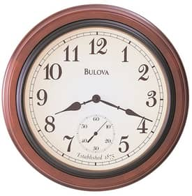 Bulova Wooden Wall Clocks Richmond Wall Clock