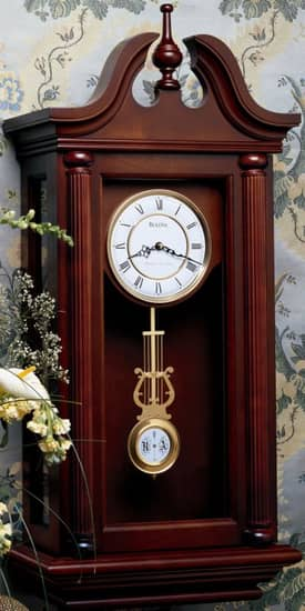 Bulova Wall Chimes Manchester Chiming Wall Clock