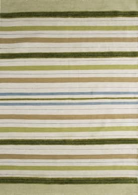 M.A. Trading Modern Lights Striped Summer Rug