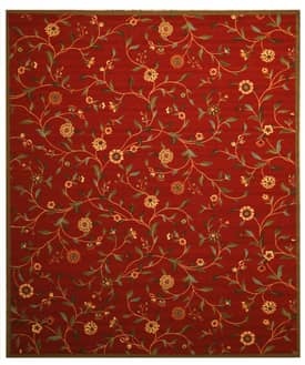 Eastern Oriental Ottohome Euro Home OS560 Red Rug