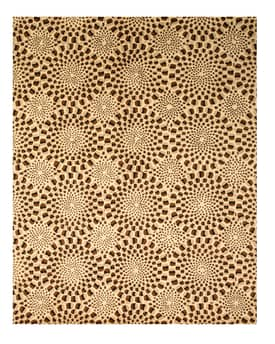 Eastern Oriental Madrid Modern Animal Skin Rug