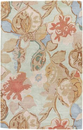 Jaipur Rugs Blue Petal Pusher Rug