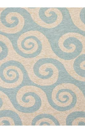Jaipur Rugs Coastal Living(R) I-O Wave Hello Rug