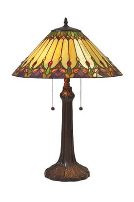 Lite Source Inc. Ebenezer Ebenezer C41048 Table Lamp in Dark Bronze Finish Lighting