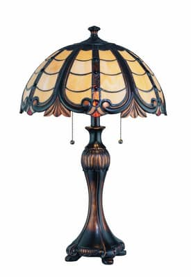 Lite Source Inc. Permala Permala C41182 Table Lamp in Dark Bronze Finish Lighting