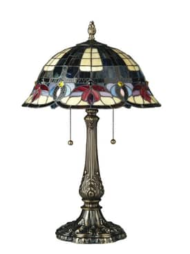 Lite Source Inc. Godiva Godiva C4577 Table Lamp in Antique Brass Finish Lighting