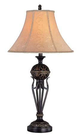 Lite Source Inc. Osric Osric C4854 Table Lamp in Antique Bronze Finish Lighting