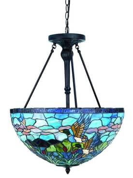 Lite Source Inc. Neka Neka C7858 3 Light Pendant in Antique Bronze Finish Lighting