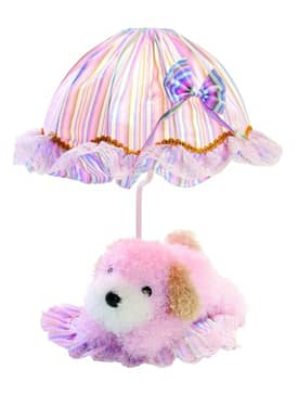 Lite Source Inc. Puppy Puppy IK-6090PINK Table Lamp in Pink Lighting