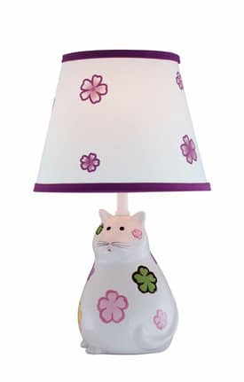 Lite Source Inc. Meow Meow IK-6093 Table Lamp in Ivory Lighting