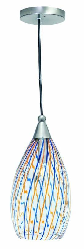 Lite Source Inc. Whimsy Whimsy LS-1427 1 Light Pendant in Multi Lighting