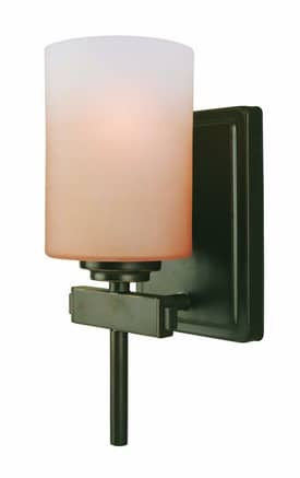 Lite Source Inc. Bess Bess LS-16701 1 Light Wall Sconce in Dark Bronze Finish Lighting