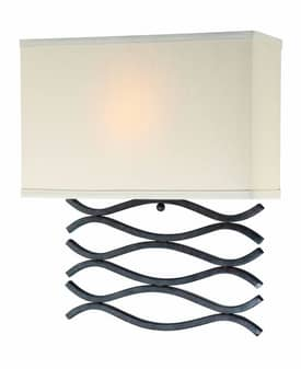 Lite Source Inc. Jaylee Jaylee LS-16917 1 Light Wall Sconce in Dark Bronze Finish Lighting