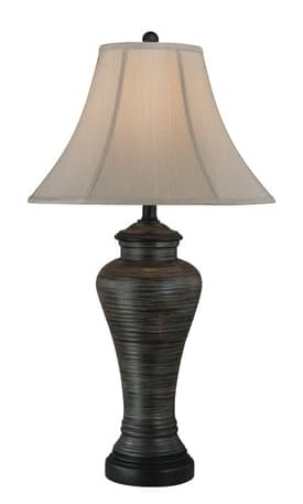 Lite Source Inc. Placido Placido LS-21153 Table Lamp in Brushed Bronze Finish Lighting