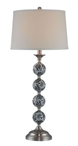 Lite Source Inc. Bryndis Bryndis LS-21157 Table Lamp in Polished Steel Finish Lighting