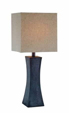 Lite Source Inc. Enkel Enkel LS-21330 Table Lamp in Dark Walnut Finish Lighting
