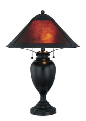 Lite Source Inc. Mischa Mischa LS-21437 Table Lamp in Dark Bronze Finish Lighting