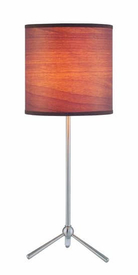 Lite Source Inc. Delaine I Delaine I LS-21595 Table Lamp in Polished Steel Finish Lighting
