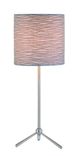 Lite Source Inc. Delaine II Delaine II LS-21596 Table Lamp in Polished Steel Finish Lighting